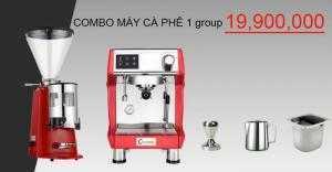 Máy pha cà phê CORRIMA 3200 và máy xay công nghiệp 900N.