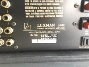Chuyên Bán ampli Luxman L48X hàng Long lanh