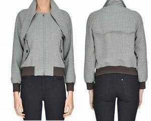 Áo vest nữ Balenciaga Mcglcsg04015i Grey Wool Jacket