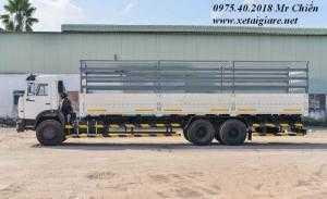 Xe tải thùng 53229 (6x4) giá rẻ. vì sao nên chọn?