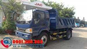 Xe ben JAC  7T8 thùng 6.5 khối 1 cầu trả góp giá rẻ