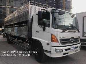 Xe tải Hino FG8JPSB 8.2 Tấn, hỗ trợ vay lãi...