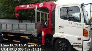 Xe tải Hino FC gắn cẩu - Giao xe ngay, hỗ trợ...