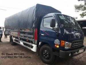 Báo Giá xe tải HD120SL - xe tải 8 tấn giá rẻ, thùng dài 6m3, trả trước 200 triệu, giao xe ngay
