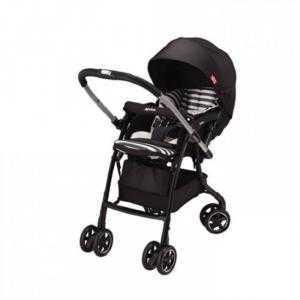 Xe đẩy trẻ em Aprica Luxuna Dual CTS Coordy Black
