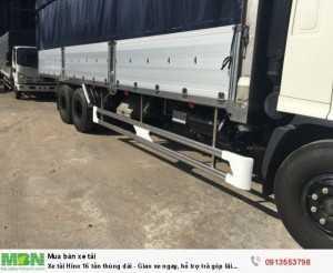 Xe tải Hino 16 tấn thùng dài - Giao xe ngay, hỗ trợ trả góp lãi suất thấp