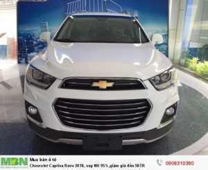 Chevrolet Captiva Revv 2018, vay NH 95%,giảm...