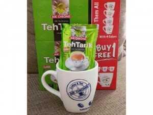 Trà sữa Malay TehTarik vị truyền thống tặng ly