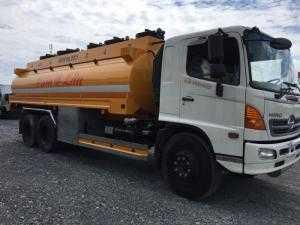 Xe Bồn xăng dầu 18 khối Hino FM8JNSA - Giao...