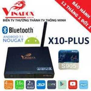 Android Vinabox X10 Plus 2018 phiên bản mới 7.1.2 thương hiệu Việt
