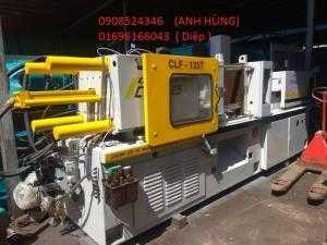 Máy ép nhựa CLF 125 tấn,704 kinh dương vương,p An Lac, q Bình Tân, tpHCM