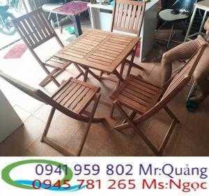 Bàn ghế cafe giá rẻ BGX12