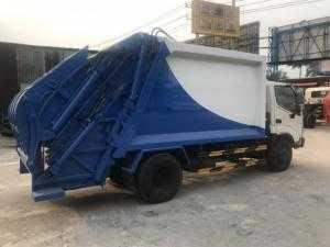Xe tải Hino WU342 cuốn ép rác 5 tấn - Giao xe...
