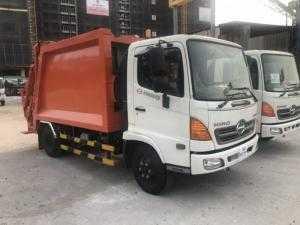 Xe tải Hino ép rác 9 khối - Hino FC9JESW -...