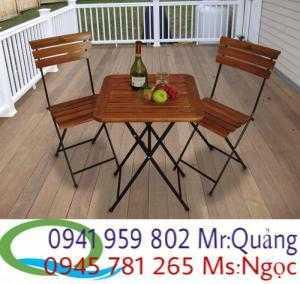 Bàn ghế cafe bàn ghế patio fanxipan