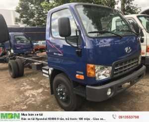 Bán xe tải HD800 8 tấn giá ưu đãi trong...