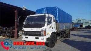 Xe tải Chiến Thắng 7 tấn 2 thùng mui bạt dài lên tới 6m7 giá rẻ