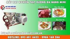 Máy Xay Đùn Thịt Bò Lợn Băm, Cối nghiền thịt công nghiệp đa năng