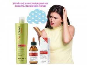 Bộ dầu gội và huyết thanh trị rụng tóc