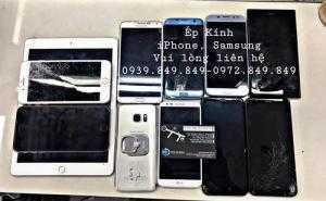 Ép kính iPhone, Samsung các kiểu con đà điểu - Hoàng Kiều Mobile