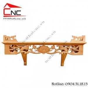 Các kiểu mẫu bàn thờ treo tường đẹp cho thờ cúng