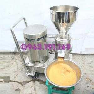 Máy nghiền keo, máy nghiền siêu mịn lam tương ớt, bơ đậu phộng, nghiền hoa quả