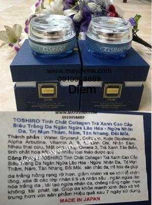 Kem TOSHIRO Siêu Trắng Da Ngừa Nhăn Lão Hóa Da