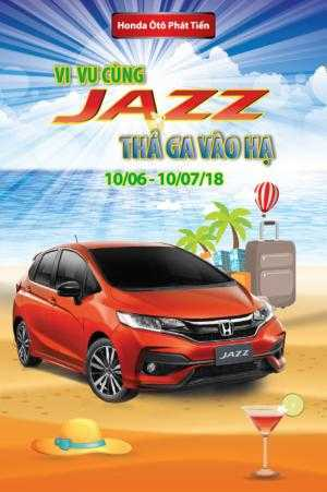 Xe Honda Jazz 1.5 RS đời 2018, Xe giao liền, Trả góp chỉ với 130tr, nhiều quà tặng và ưu dãi lớn trong tháng