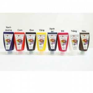Bộ 8 màu dùng pha với Epoxy Resin 400g, Bền Màu Chống Vàng Nhựa - MSN388339