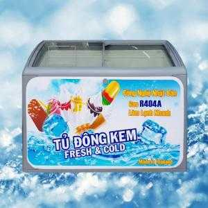 Tủ đông kem Sanden Intercool Thái Lan 300 lít