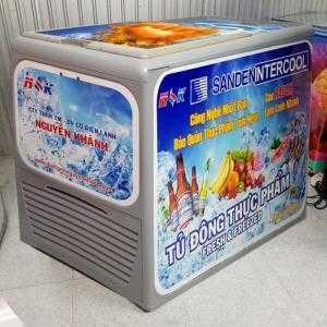 Tủ đông thực phẩm Thái Lan Sanden Intercool 300 lít