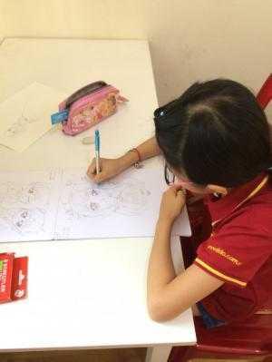 SiĐô Chiêu sinh các lớp Họa Sĩ NHí cho các bé từ 4 tuổi trở lên