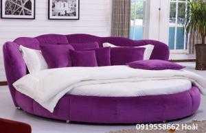 Giường tròn đẹp bọc nệm giá rẻ dưới 15 triệu