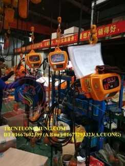 Palang xích điện juli 1 tấn 6 mét