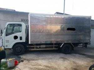 Bán xe tải Isuzu thùng kín hạ tải thành phố