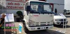 Xe tải Isuzu 1.9 tấn thùng siêu dài 6 mét