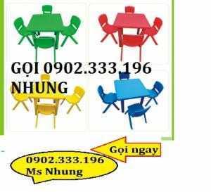 Chuyên cung cấp bàn ghế mầm non