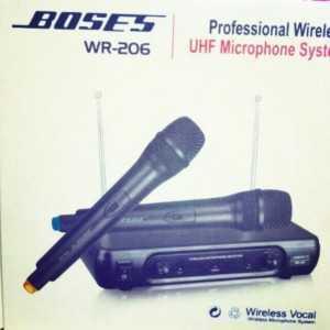 Micro không dây BOSE 206 CAO CẤP