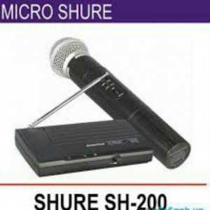 Micro không dây Shure SH-200 đơn cao cấp