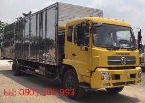 Giá xe tải Dongfeng 6 tấn 7 thùng kín - thùng dài 9m3 lọt lòng .