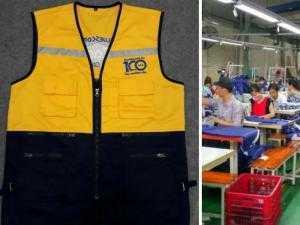 Xưởng may áo khoác giá rẻ tại TPHCM - May áo gió giá rẻ mọi số lượng