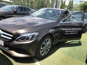Mercedes C200 chính hãng, xe demo công ty