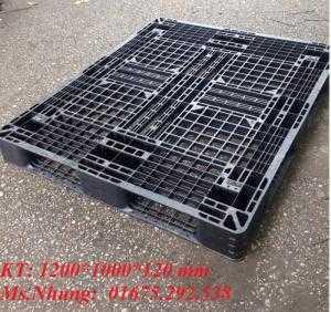 Pallet nhựa KT 1200*1000*120 mm