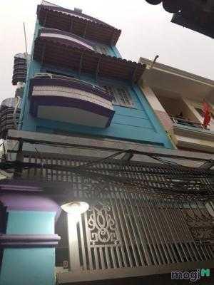 Bán nhà hẻm 71 Đào Tông Nguyên, Nhà Bè, Tp.HCM DT 4m x 20m, 2 lầu, 4PN