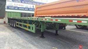Bán Mooc Sàn phẳng tải(chở container),3 trục,40 feet,32 tấn,giá rẻ,giao tận nơi.
