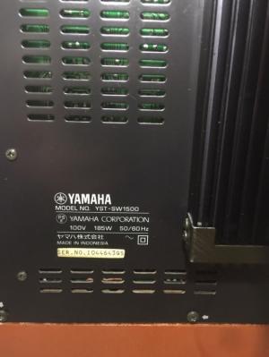 Chuyên bán Sub Yamaha SW 1500 hàng đẹp