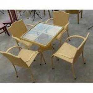 Bàn ghế gổ cafe quán nhậu giá rẻ tại xưởng sản xuất
