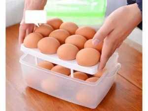 Hộp đựng trứng hai tầng