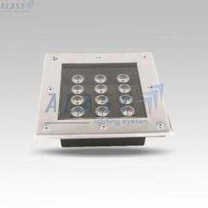 Đèn LED Âm Đất Vuông 12W - GHT312