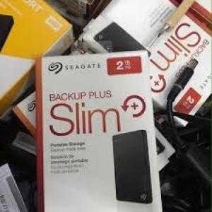 Ổ cứng di động Seagate Backup Plus Slim 2TB, siêu mỏng gọn nhẹ, mới 100%